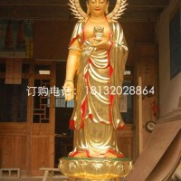 玻璃钢阿弥陀佛雕塑,玻璃钢立式如来雕塑