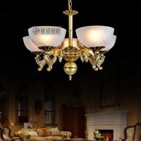 新品大气欧式吸顶灯具铁艺客厅餐厅灯饰804-5巨划算