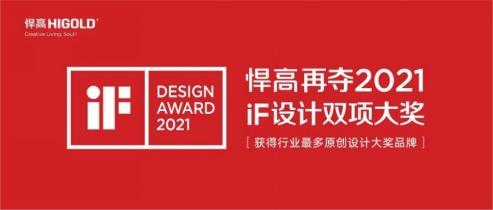 2021年红点奖iF揭晓悍高凭三项大奖成为中国五金行业最大赢家