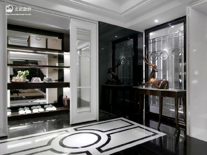 进门鞋柜怎么设计才简单大气实用
